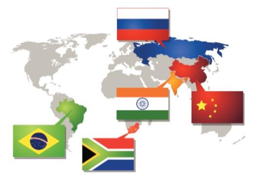 países dos brics
