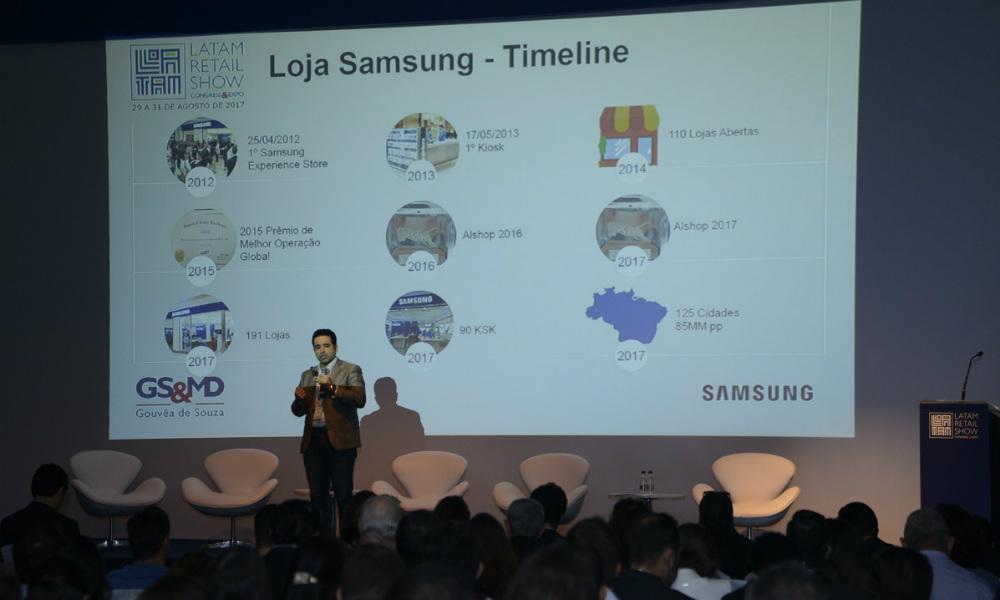 Demetrius OIiveira, executivo da Samsung